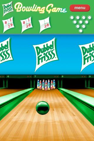 Screenshot DubbelFrisss Bowling Game