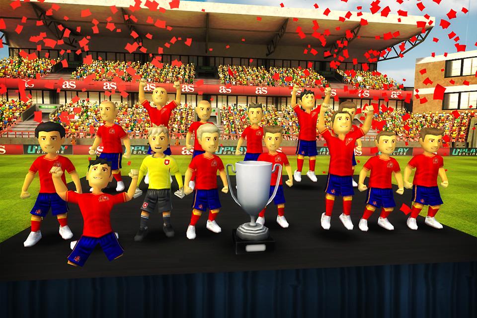 Screenshot Striker Soccer Euro 2012